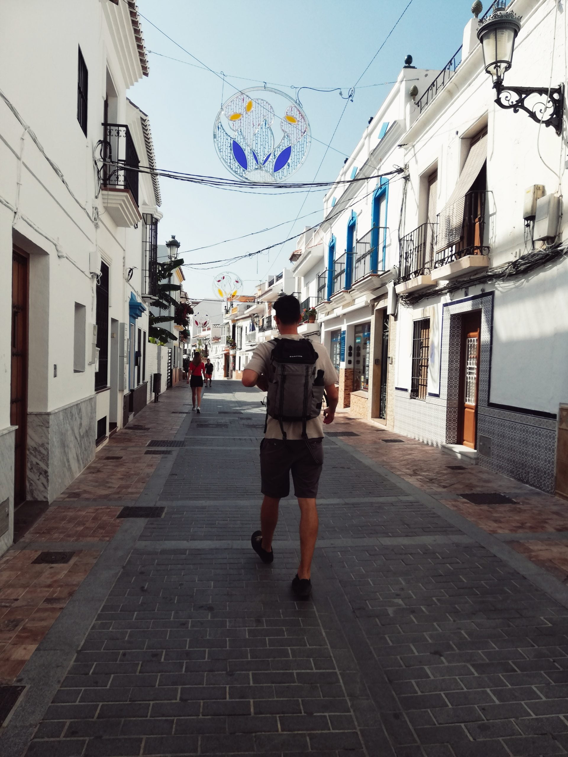 The town of Nerja