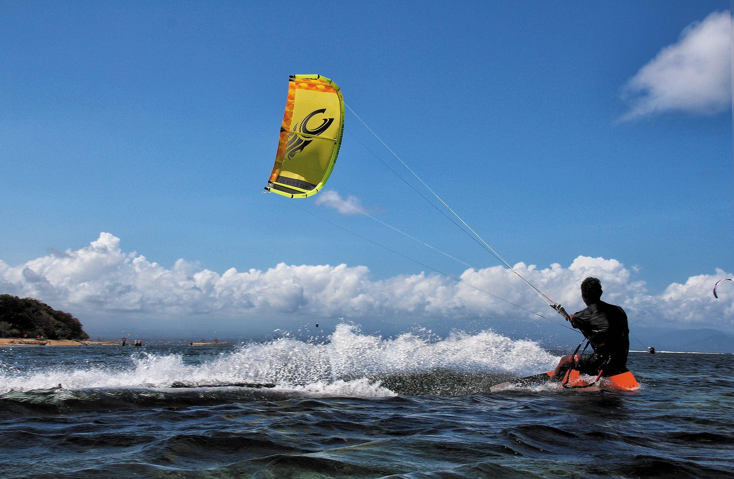 Kite Surfing Water Activity Malaga