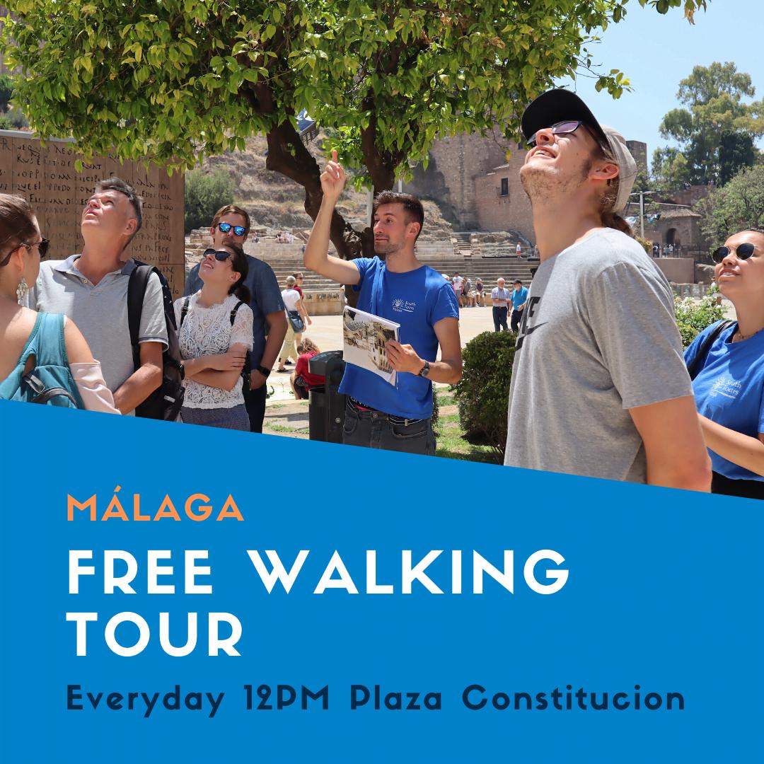 Malaga Free Walking Tour 2 hours history