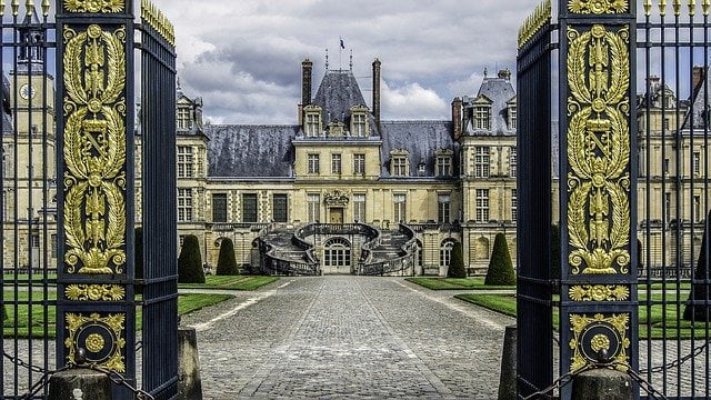 French castles: Fontainebleau
