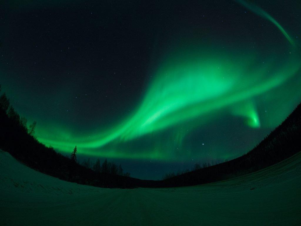 Fairbanks, northern lights
