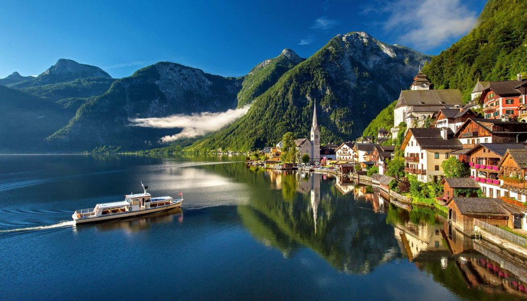 best places to photograph Hallstatt