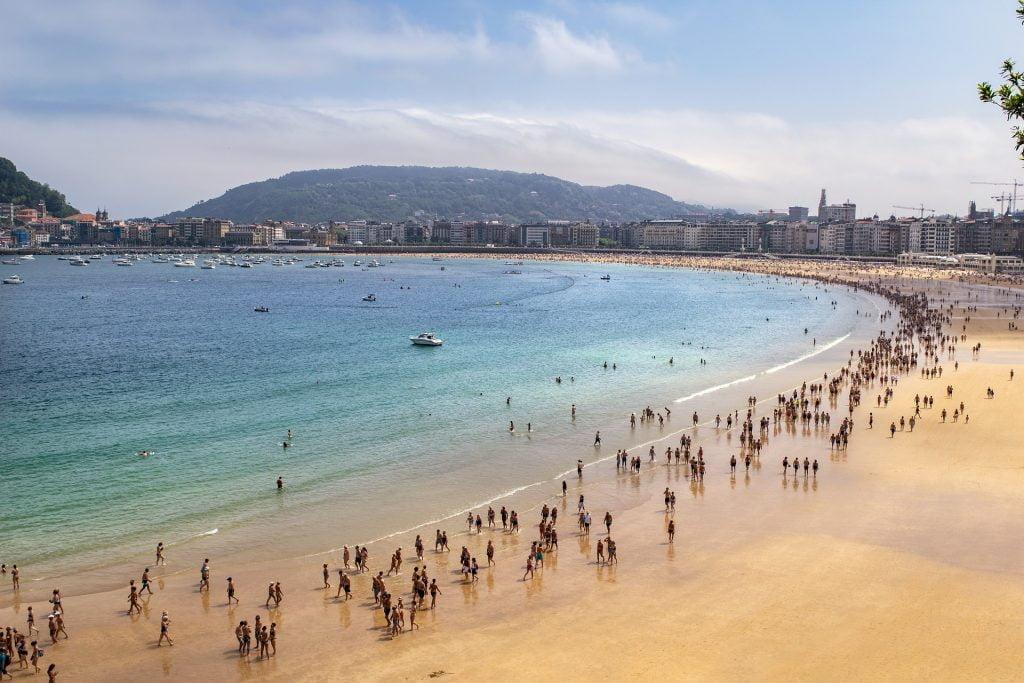 Best beaches in Spain, La Concha