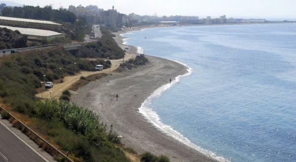 Picture of dog-friendly beach La Rana
