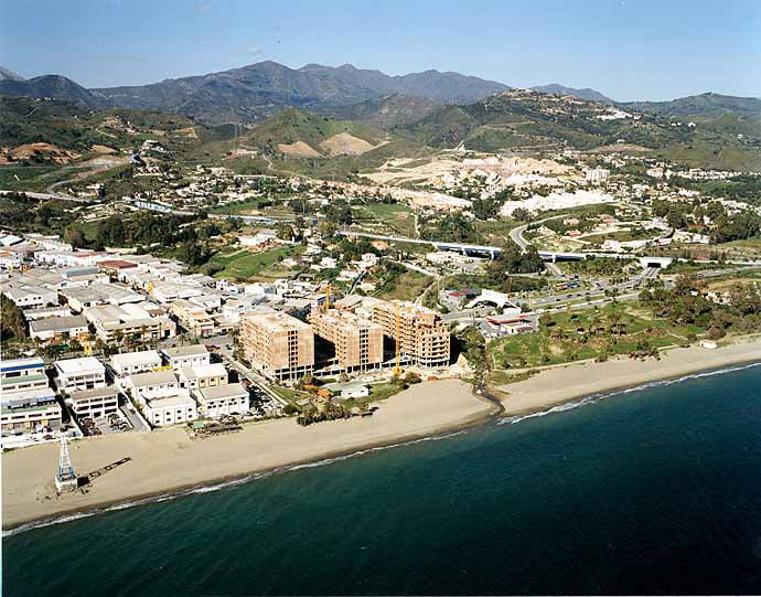 Picture of beach of el cable