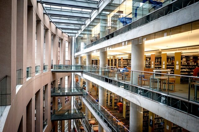 Central public library Canada