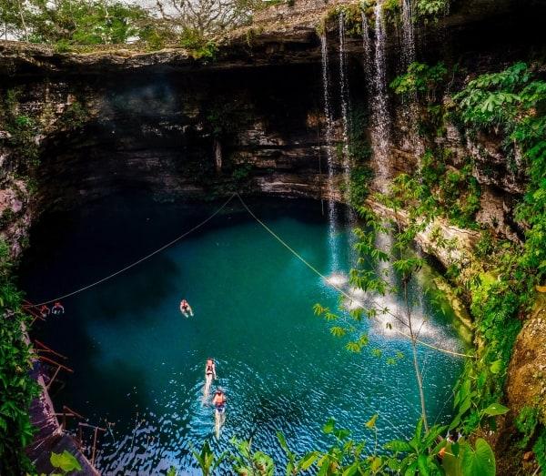 Mayan cenotes